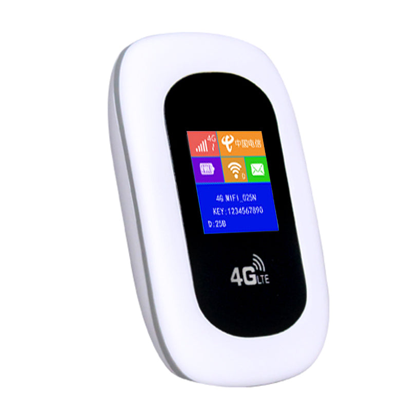 4G LTE Pocket Mifi Wi-Fi Mobile Hotspot for Europe (LED Screen Version)