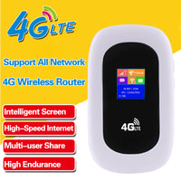4G LTE Pocket Mifi Wi-Fi Mobile Modem Hotspot for Arabian Peninsula