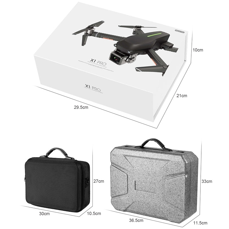 Original X1 Professional RC Quadcopter Foldable Drone with 4K HD Aerial Camera