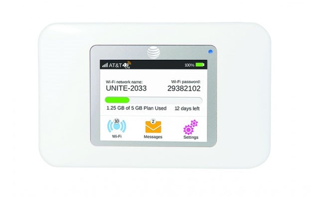 Unlocked AirCard 770S AT&T Unite Mobile 4G WiFi Hotspot
