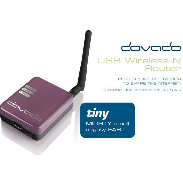 Dovado Tiny Portable 3G 4G Wireless Router Mobile Broadband