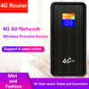 4G Wireless Router Power Bank 10000mAh (USA Carriers)