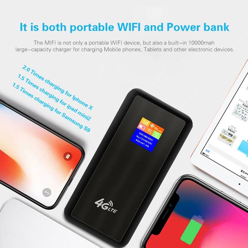 Power Bank Mobile Hotspot for Arabian Peninsula