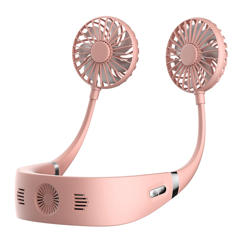 Hands-free Mini Portable USB Rechargeable Outdoor Sports Lazy Hanging Neck Band Portable Fan