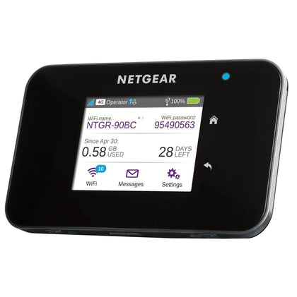 Netgear Aircard AC810S 4G LTE CAT11 600Mbps Mobile Hotspot Router