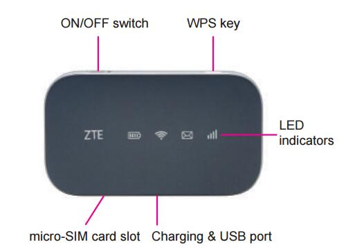Unlocked ZTE Z-917 MF917 T-Mobile 4G LTE USA Hotspot
