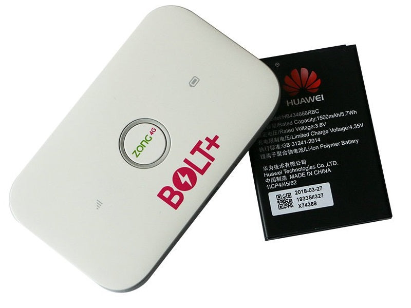 Unlocked Huawei E5573CS-322 Zong 4G Bolt+ 4G LTE Router