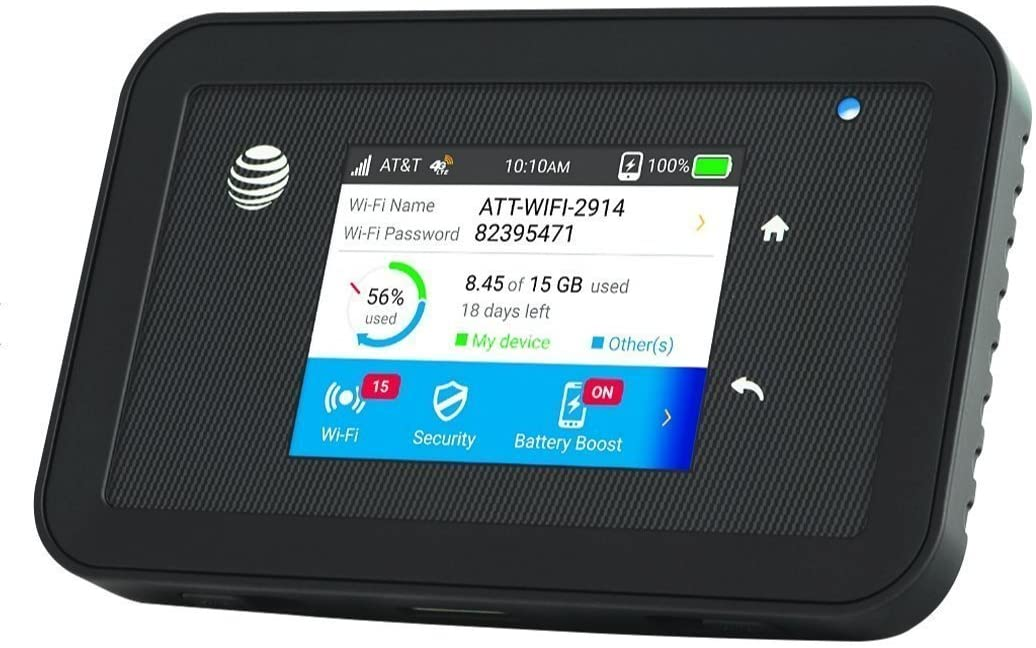 Unlocked (AT&T Unite Explore) Netgear AirCard 815S Global Mobile Hotspot