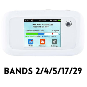 USA Stock NEW - Unlocked ZTE MF923 LTE 4G FDD Mobile Hotspot AT&T Velocity