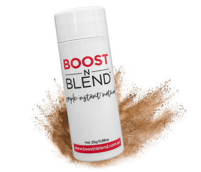 Lush Light Brown BOOSTNBLEND™ - BOOST hair volume at the roots