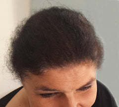 Boost n Blend hair building fibres Jo after