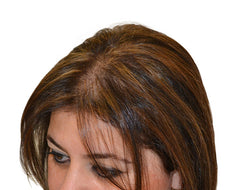 Boost n Blend for thinning hair in women Jackie before
