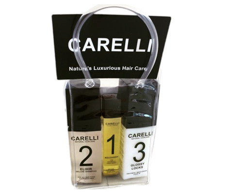 Carelli Paraben and Sulfate Free Shampoo and Conditioner Travel Pack