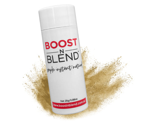 Boost N Blend™ Bold Buff Blonde Hair Loss Concealer for Thinning Hair. BOOST Hair Volume Instantly