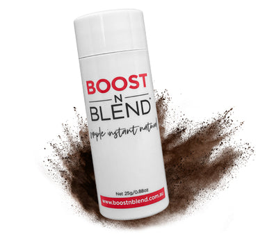 Boost N Blend Female Hair Fibres Dark Brown