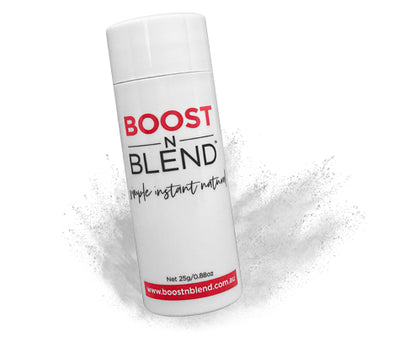 Boost N Blend™ Light Silver Grey Hair Loss Concealer