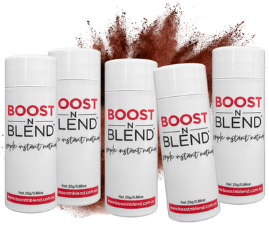 Boost N Blend™ Warm Cinnamon Brown 5 Pack - GET ONE FREE! Bulk Buy