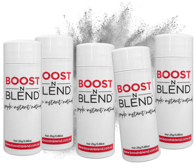 Boost N Blend™ Silky Silver Grey 5 Pack - GET ONE FREE! Bulk Buy