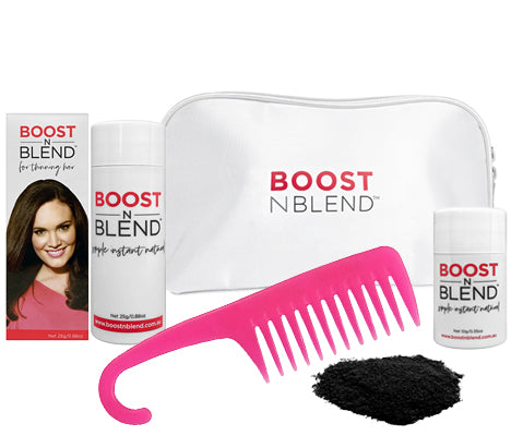 Boost N Blend™ Gift Pack WITH COMB - Black