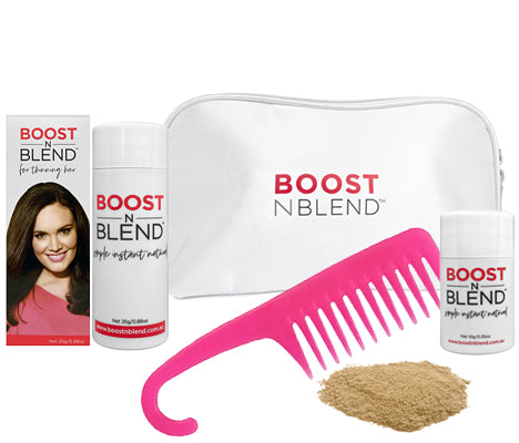 Boost N Blend™ Gift Pack WITH COMB - Blonde