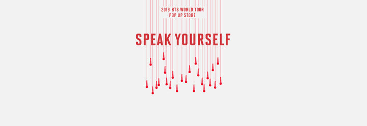 BTS WORLD TOUR POP UP STORE MERCH OPEN