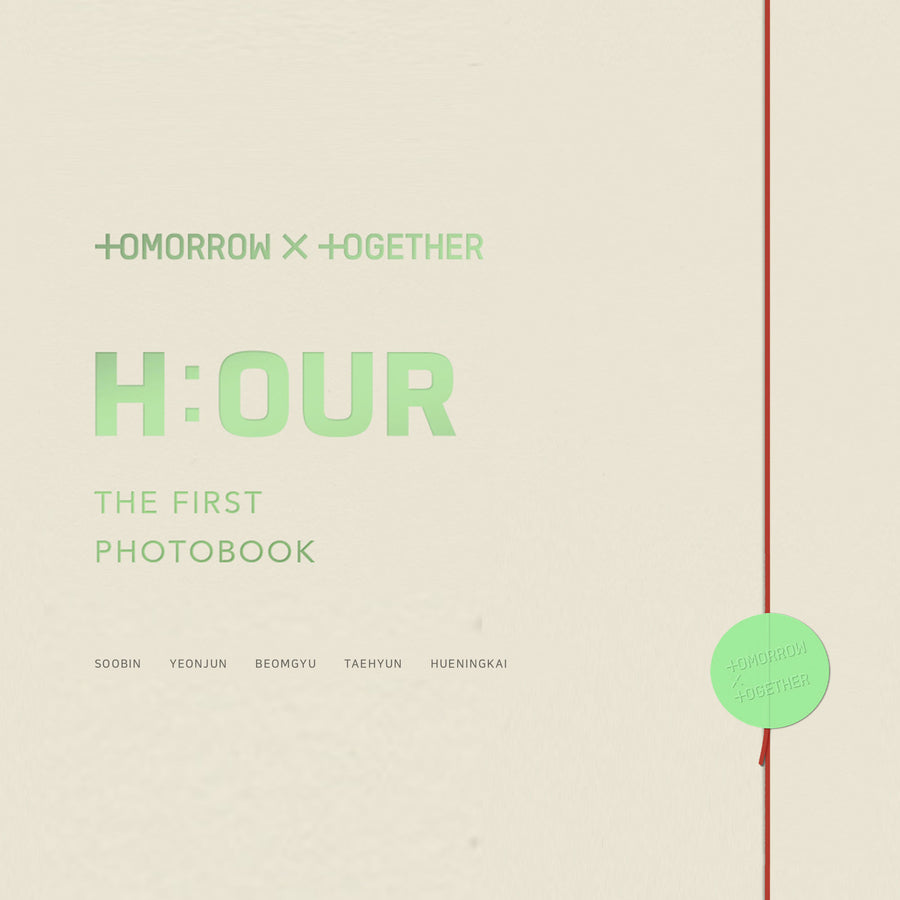 TOMORROW X TOGETHER THE FIRST PHOTOBOOK H:OUR