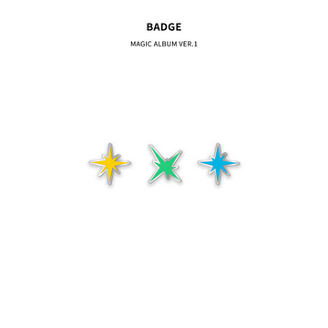 BADGE SET [MAGIC ALBUM Ver.1]