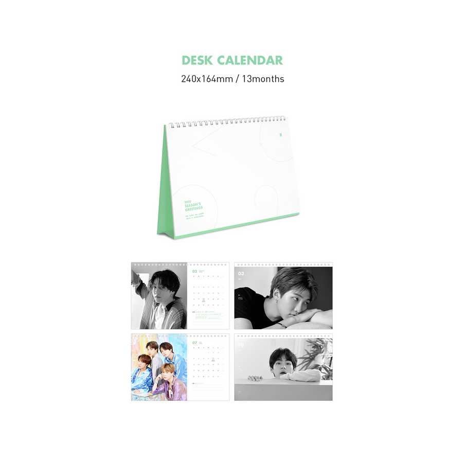 Bts Summer Package 2020.Bts 2020 Season S Greetings Set