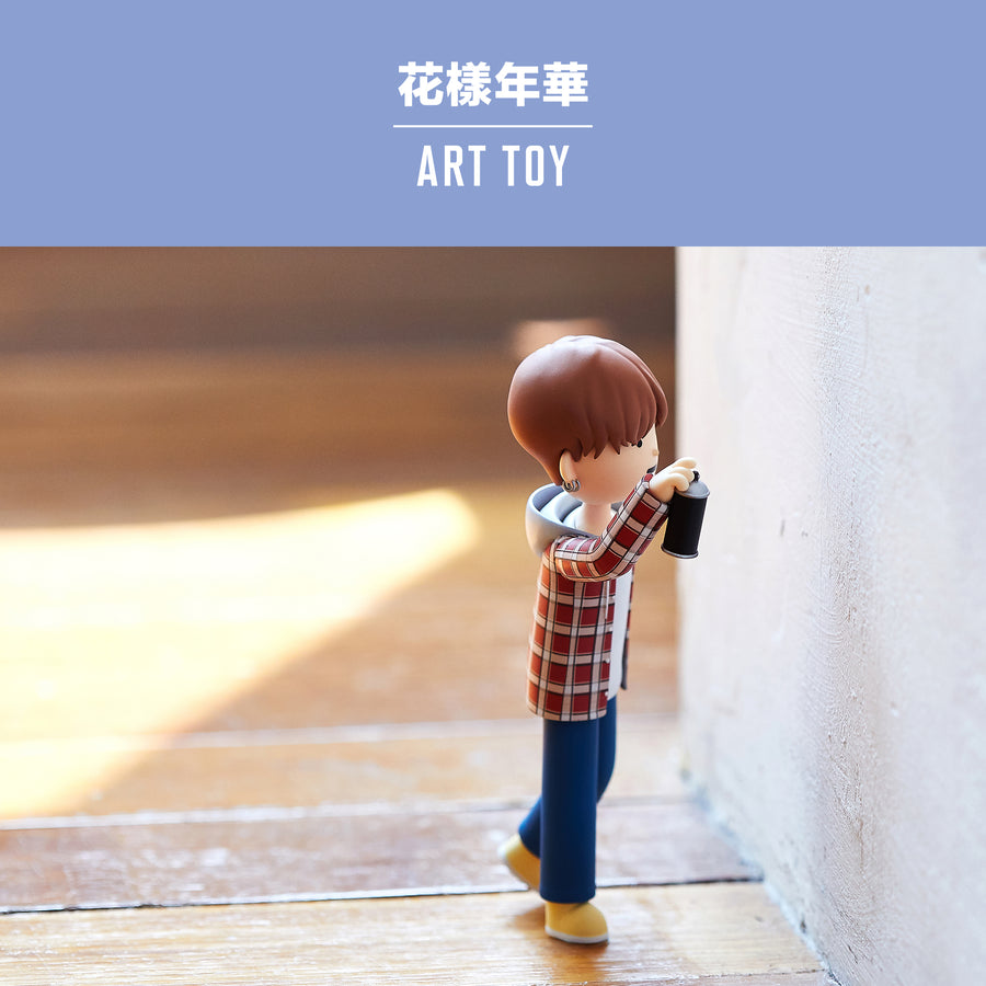 The Most Beautiful Moment in Life Art Toy_TAEHYUNG