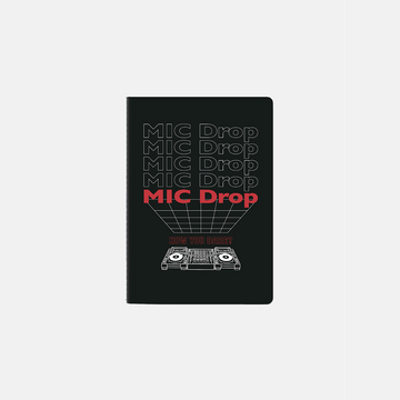 BTS MIC DROP A5 Notebook