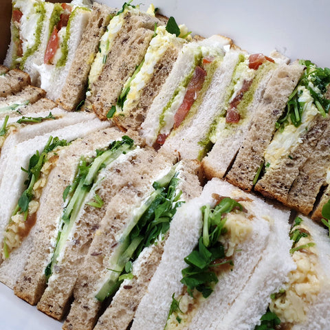 Vegetarian Sandwich Platter (16 Pieces)