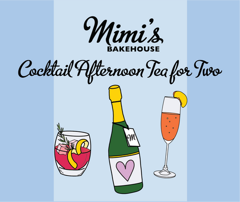 Cocktail Afternoon Tea for Two Gift Voucher