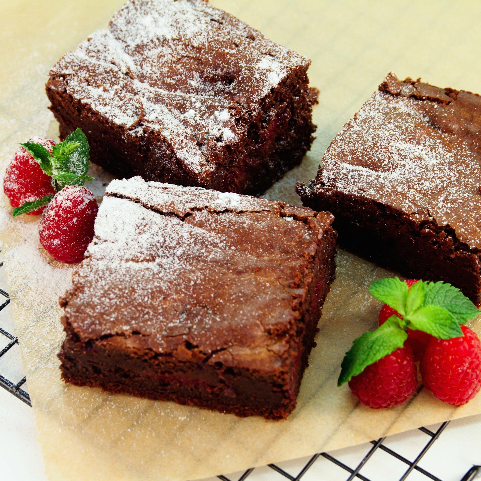 Made Without Gluten - Chocolate Raspberry Brownie