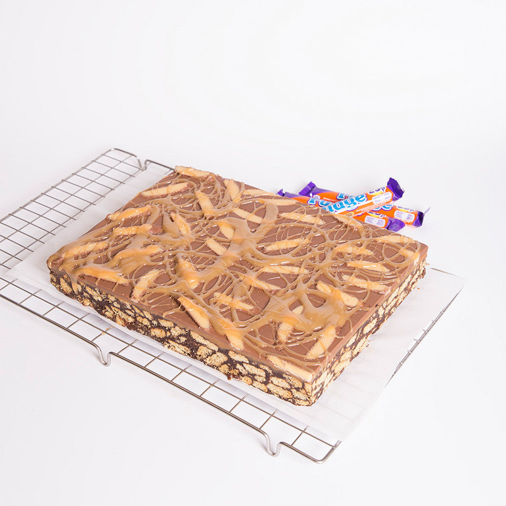 Caramel Fudge Slice