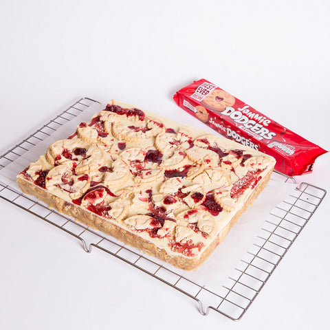 Jammy Dodger Slice
