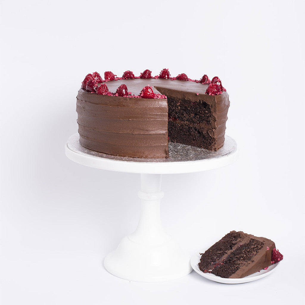 Made Without Dairy - Chocolate Raspberry Cake