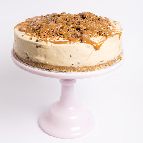Caramel Crunchie Cheesecake