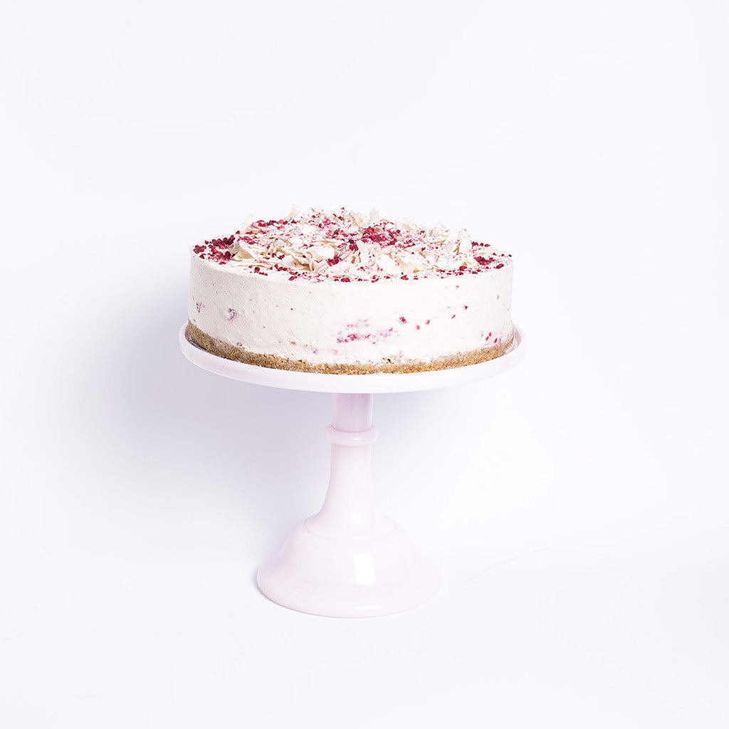 Coconut Raspberry Cheesecake