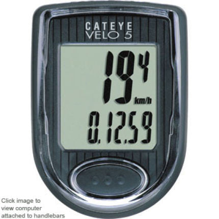 Cateye Velo 5 bike computer