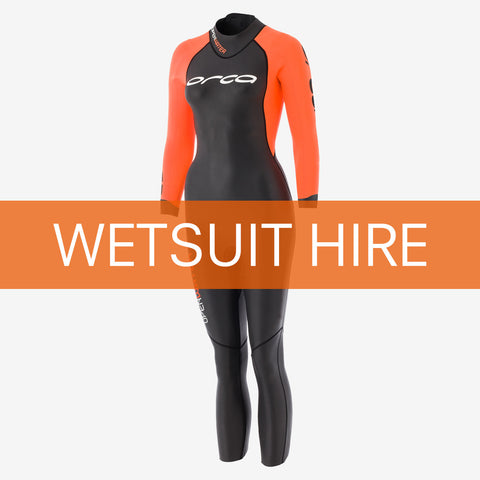 Womens Season Wetsuit Hire - £55 hire fee