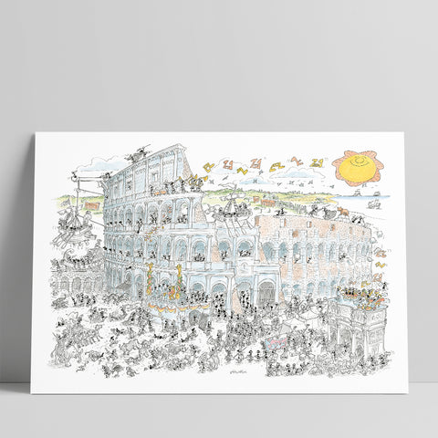 "Poster ""Colosseo"" 50x70cm"
