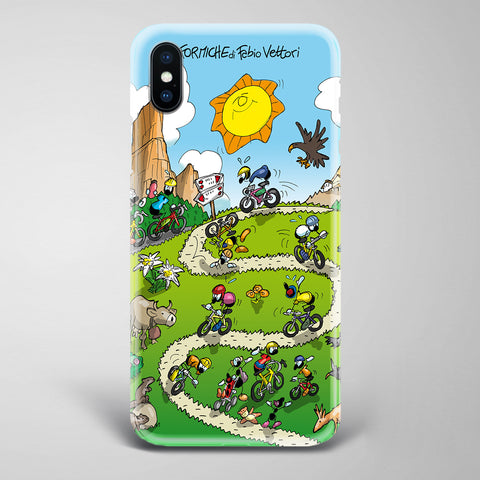 "Cover artistica per Smartphone soggetto ""Mountain Bike"""