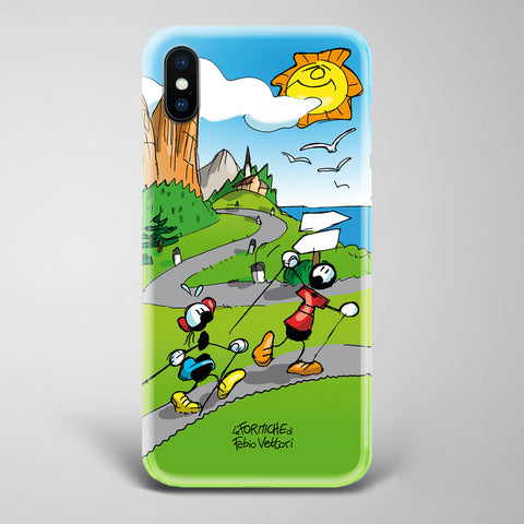"Cover artistica per Smartphone soggetto ""Nordic Walking"""
