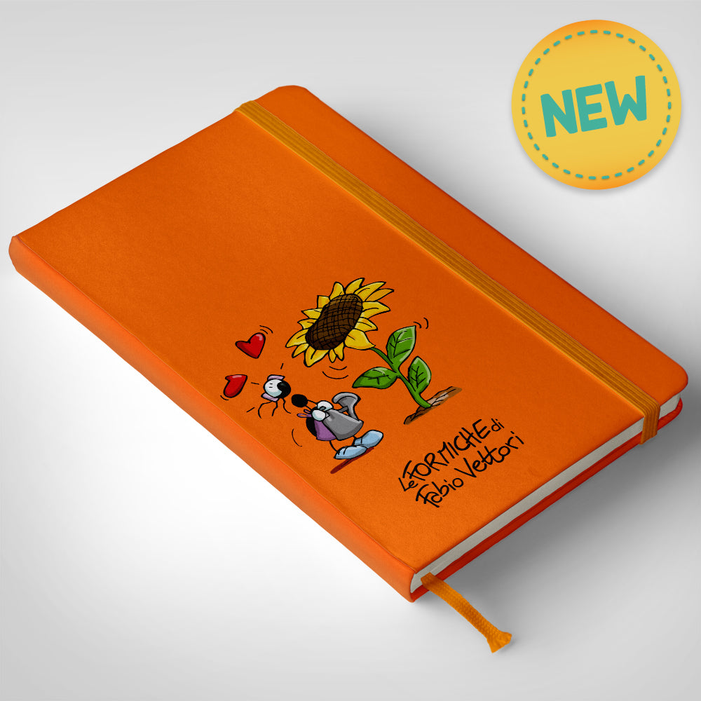Notebook Arancio Girasole