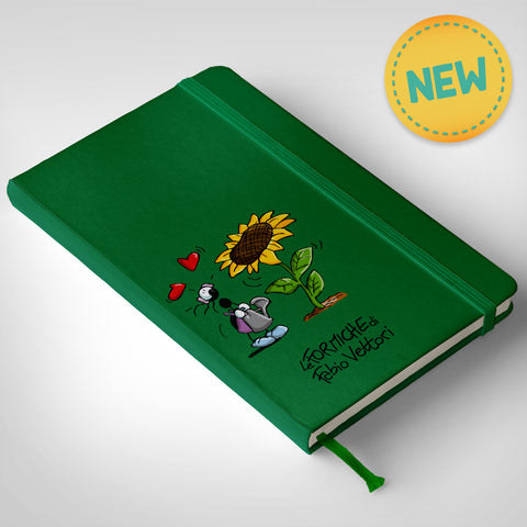 Notebook Verde Girasole
