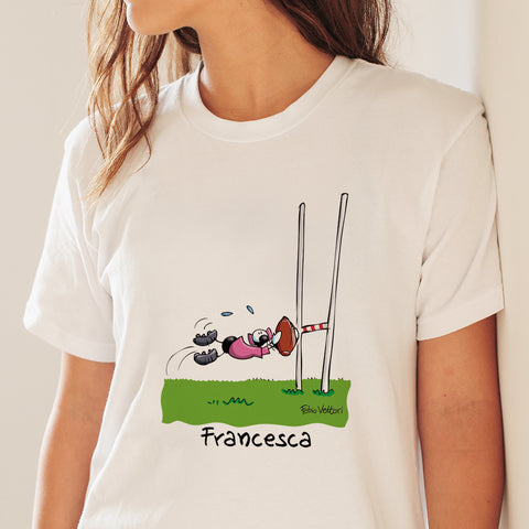 T-Shirt Personalizzata Rugby (Femmina)