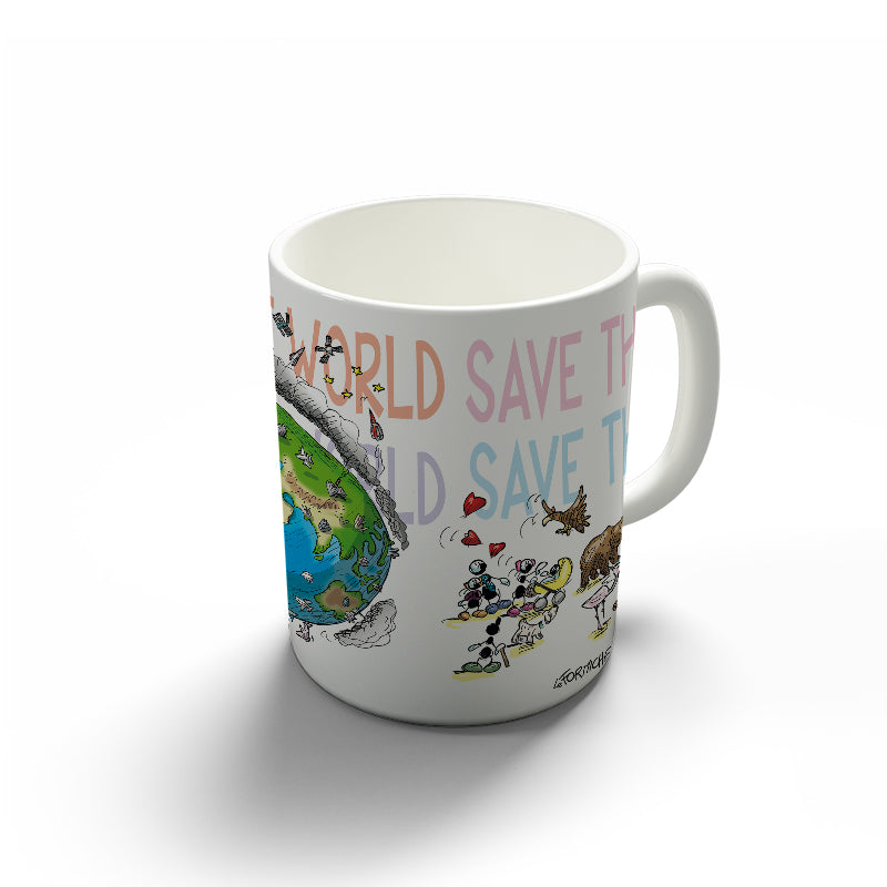 "Tazza ""Save the World"""
