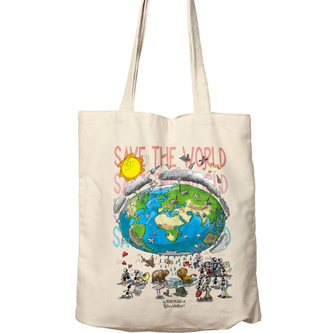 "Shopper ""Save the world"""