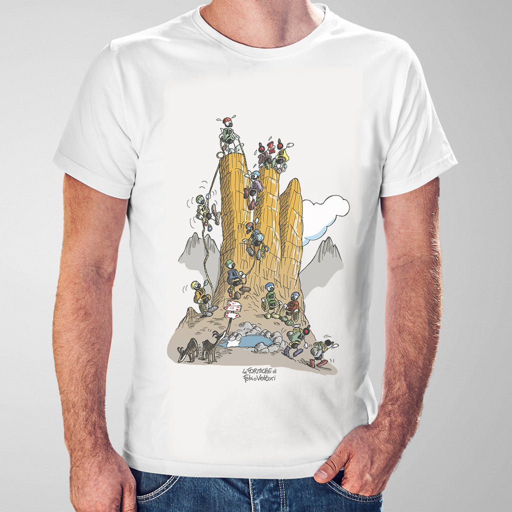 "T-shirt ""Arrampicata"""