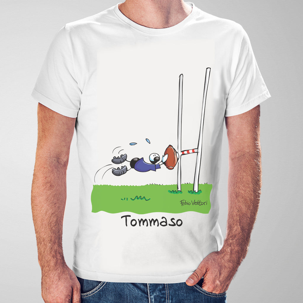 T-Shirt Personalizzata Rugby (Maschio)